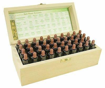 www.LaBotika.es ✅ ▷ Completo Set 10ml Flores de Bach Remedios ✅ En Caja de Madera,