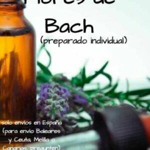 Flores de Bach preparado individual