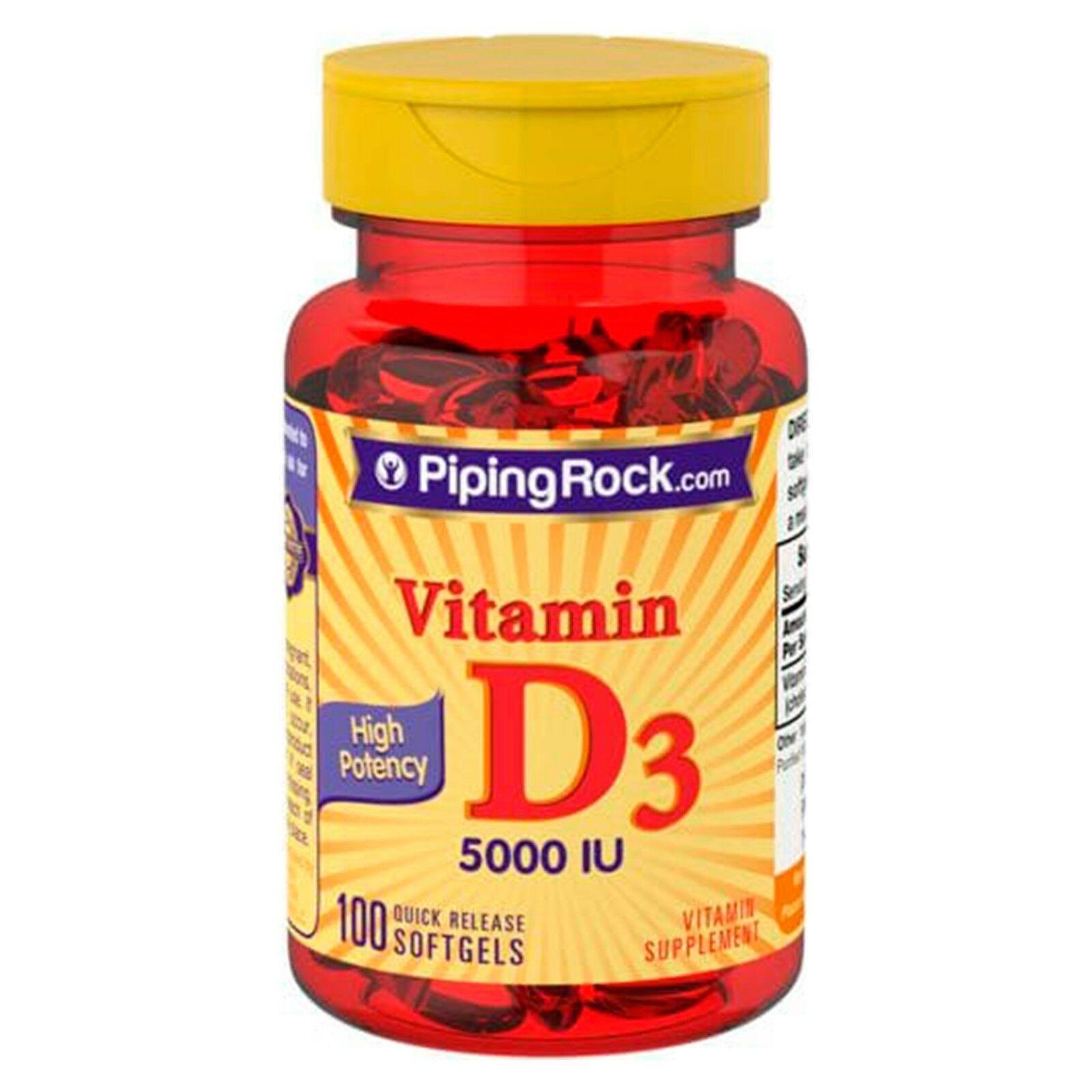 www.LaBotika.es ✅ ▷ Vitamina D3 ✅ 5000 IU 100 Perlas.