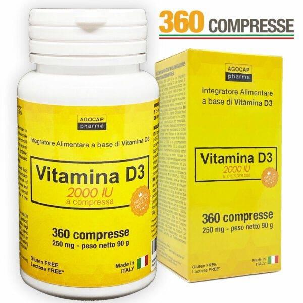 www.LaBotika.es ✅ ▷ VITAMINA D3 ✅ 2000 UI 360 Comprimidos.