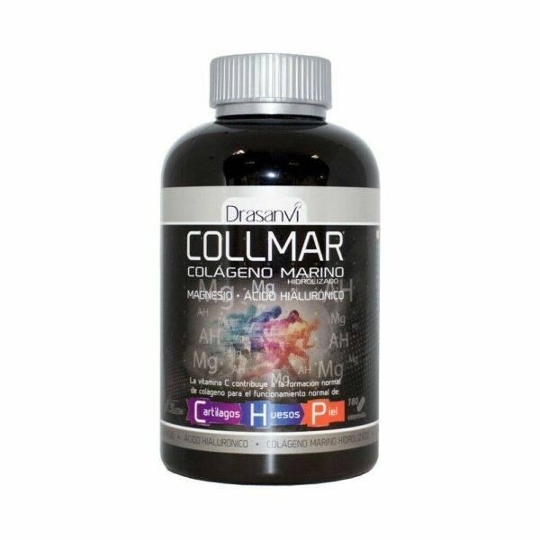 www.LaBotika.es ✅ ▷ COLLMAR Colageno hidrolizado con magnesio, AC hialuronico y ✅ Vitamina C 180 Comprimidos.