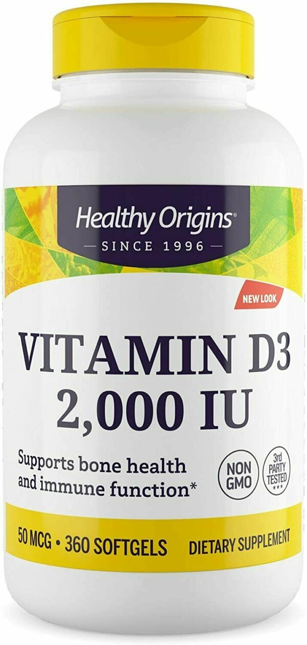 www.LaBotika.es ✅ ▷ Vitamina D ✅ 3 2000IU 360 Capsulas.