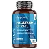 www.LaBotika.es ✅ ▷ Citrato de Magnesio 740mg✅ 180 Cápsulas Vegano 220mg de Magnesio Puro de Alta Biodisponibilidad