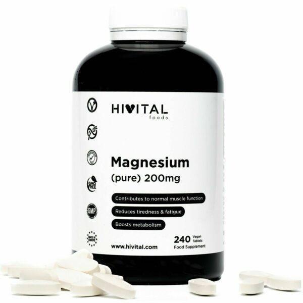 www.LaBotika.es ✅ ▷ Magnesio puro ✅ 200 mg   240 comprimidos (Suministro para 8 meses)
